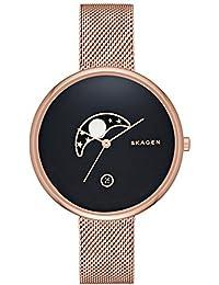 Skagen Damen-Armbanduhr Analog Quarz Leder SKW2371