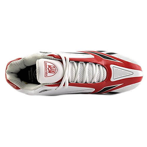 Reebok NFL Burner Spd II 5/8 M3 Cuir Baskets White-Red