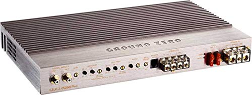 Ground Zero GZUA 2.250sq de plus – 2 canaux Amplificateur