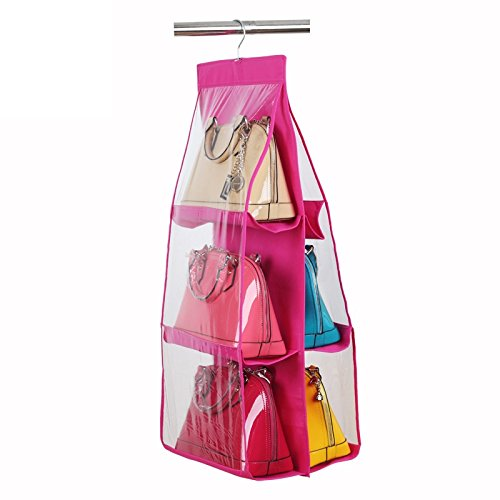 Immagazzinamento in la borsa Holder-rosa