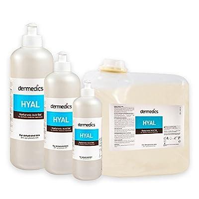 Dermedics HYAL pflegendes Hyaluron Kontaktgel / Ultraschallgel 250ml, mit 50-kDa niedermolekularer Hyaluronsäure in maximal erlaubter Konzentration