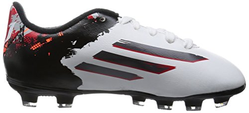 Neuf: adidas Messi 10.3 HG Enfant Chaussures de football, blanc Ftwwht/Granit/Scarle