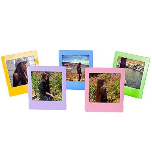 Woodmin Kunststoff Foto Rahmen für Fujifilm Instax SQUARE SQ10 Film (5 Farbe)