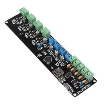 SainSmart Melzi avec dissipateurs thermiques, Reprap 3D carte contrôleur de l'imprimante, ATMEGA1284p, A4988 pour Arduino