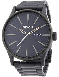 Nixon Herren-Armbanduhr XL Analog Quarz Edelstahl beschichtet A3561530-00
