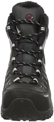 Mammut Blackfiniihighwp, Chaussures de Randonnée Basses Mixte Adulte Noir (Black-Silver)