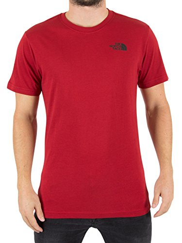 The North Face Herren Red Box-Logo-T-Shirt, Rot Rot