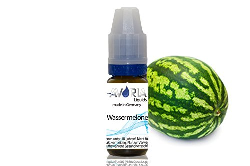 ORIGINAL AVORIA E-LIQUID FÜR DIE E-ZIGARETTE 10ml - ohne Nikotin (10ml - Wassermelone)