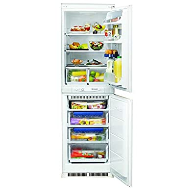 HOTPOINT HM325FF Frost Free 50/50 Integrated Fridge Freezer - White