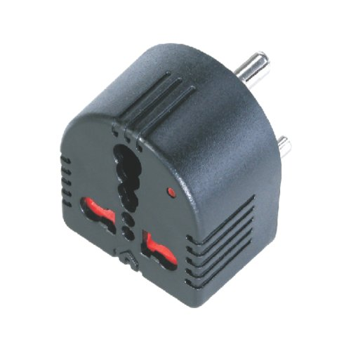 Unknown Mx Conversion MX1359 Plug Converts 5 Amps to 15 Amps 3 Socket with Child Safety Shutter with Indicator