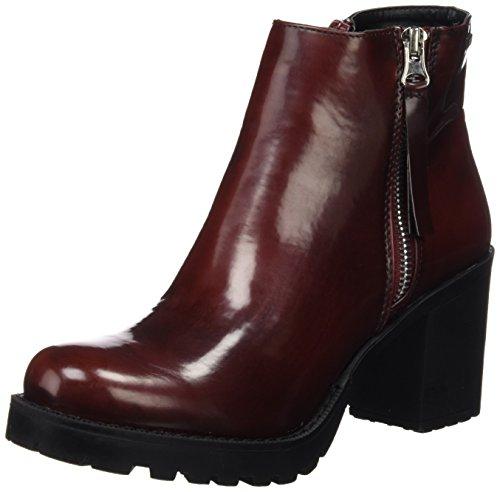 MTNG Collection, Zapatos de Tacón con Punta Cerrada para Mujer, Rojo (Cordobano Vino), 39 EU