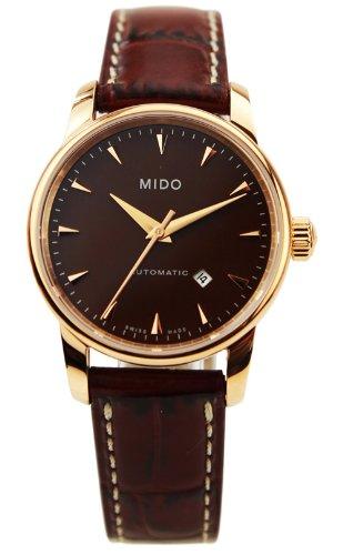 Mido Women Baron Botticelli–Wristwatch Analog Automatic Leather m76003178