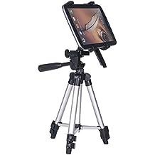 ledmomo soporte de soporte de trípode para Tablet iPad flexible ajustable para iPad Air 2/iPad Pro/Ipad 4/3/2y más de Tablets de 7a 14pulgadas