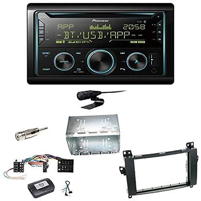 Pioneer-FH-S720BT-Bluetooth-USB-MP3-Autoradio-CD-FLAC-WAV-WMA-Freisprecheinrichtung-Einbauset-kompatibel-mit-Mercedes-Vito-Viano-W639