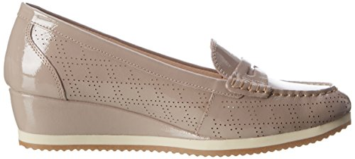 Stonefly Francy 6, Mocassins Femme Gris (Taupe 423)