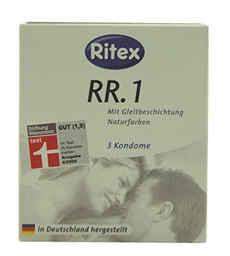 Ritex RR.1 Kondome, 3 Stück Hauchzart