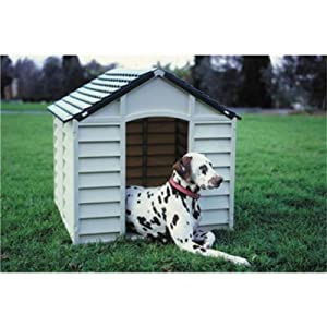 BillyOh Large Heavy Duty Plastic Dog Kennel Pet Shelter