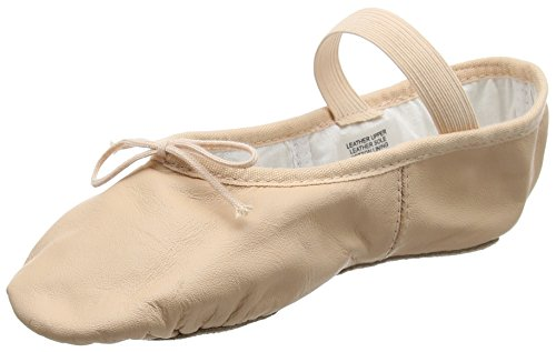 (S0209) Bloch Arise Leder Ballettschuh Rosa EU 30.5 B UK 11.5 B
