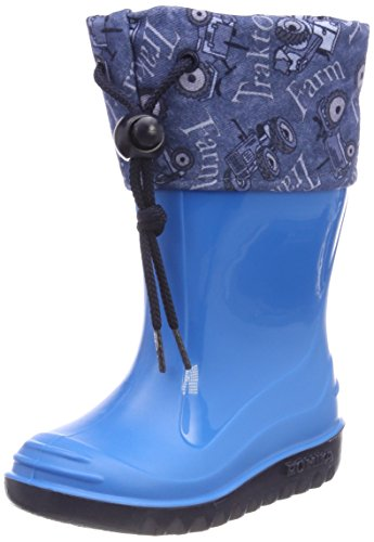 Romika Farmer, Botas de Agua Unisex niños, Azul Royal-Kombi 511, 34 EU