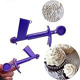 TAOtTAO L'applicateur de perles est un outil de décoration de gâteau utile qui permet aux utilisateurs de mettre facilement des perles comestibles.