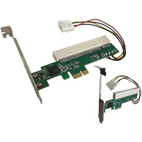 Kalea-Informatique ©–Adattatore PCI a PCI Express–Convertitore per montare una scheda