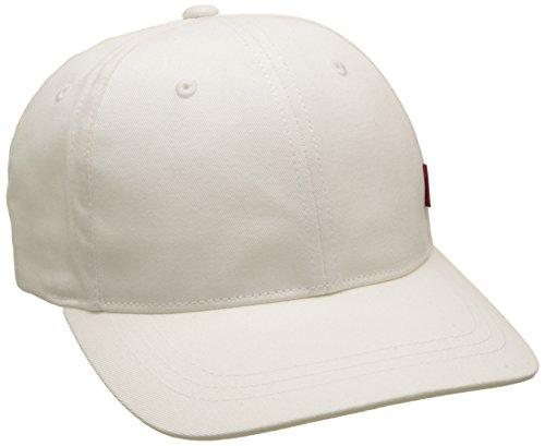 Navy Blue Baseball Cap Hut (LEVIS FOOTWEAR AND ACCESSORIES Herren Classic Twill Red Tab Baseball Cap, Weiß (Navy Blue), One size (Herstellergröße: UN))
