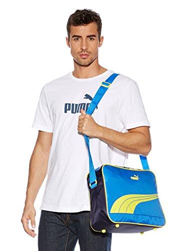 Puma Unisex Sole Reporter Schultertasche Victoria Blue-New Navy-Buttercup