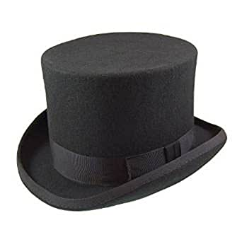 63f8850b1280f5 Major Wear Men's Official Top Hats in Sizes (Small - 55cm, Black)