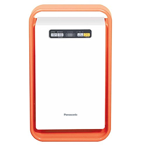 Panasonic F-PBJ30ADD Room Air Purifier (Orange & White)