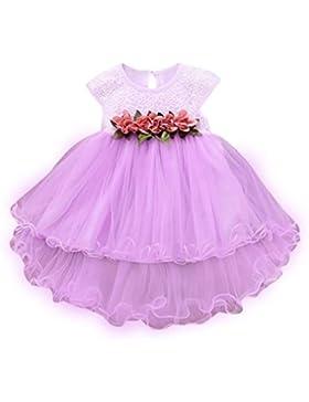 Vestito da Bambina, BeautyTop Estate Abiti Neonata Bambino Senza maniche Vestiti da principessa floreale elsa...