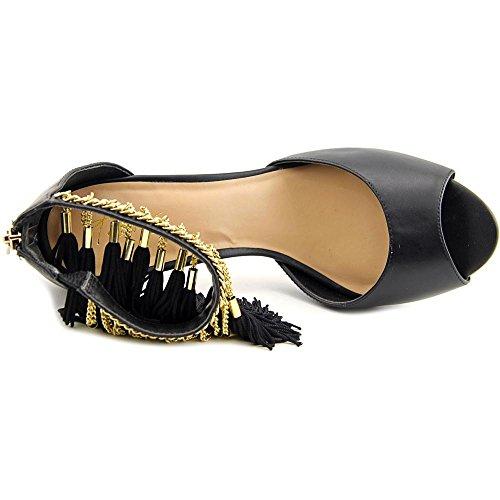 Thalia Sodi Lendra Damen Synthetik Sandale Black