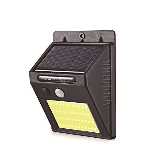 ILYPRO Solarleuchte mit Bewegungsmelder 48 COB LED Solarlampe für Außen Garten Garage...