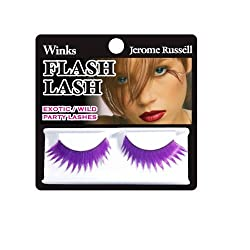 Jerome Russell Winks Flash Lash, 80s Violet Flash by Jerome Russell