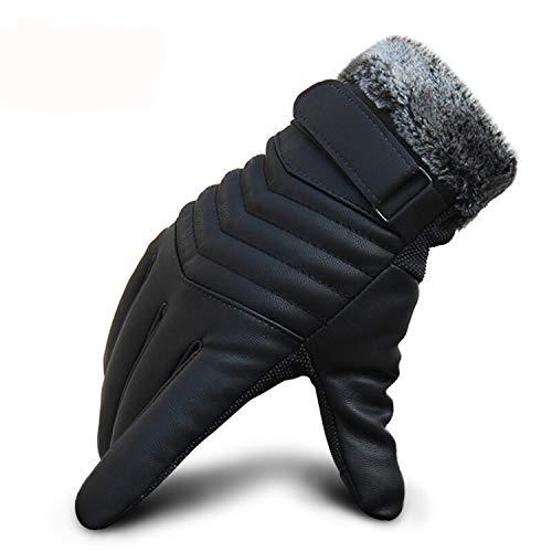 Nosterappou Doublure Confortable et Chaude, Chaude et résistante à l'Usure, des Gants de Doublure hivernaux Chauds épaississant Un écran Tactile résistant au Vent Gants froids Application extérieure