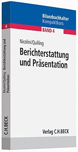 Berichterstattung und Präsentation