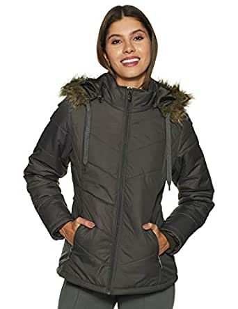 Qube By Fort Collins Women's Jacket (39223 SMU_Charcoal_M)