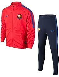Nike FCB NK et Dry TRK Suit SQD K-Chándal FC Barcelona Garcon