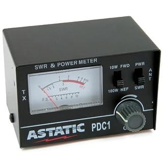ASTATIC PDC1 CB / HAM RADIO 10/100 WATT SWR / RF METER