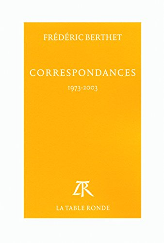 Correspondances: (1973-2003)