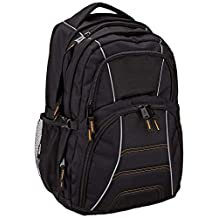 AmazonBasics Laptop Computer Backpack - Fits Up To 17 Inch Laptops