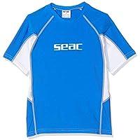 Seac RAA Short EVO - Camiseta para Snorkeling y Natación con Protección UV Unisex niños