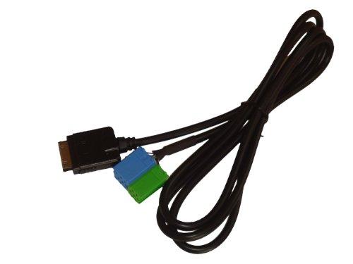 vhbw AUX Adapterkabel für Autoradios von Becker Pro 7933, Mexico Pro CD 4627, Mexico CC 4327 etc.