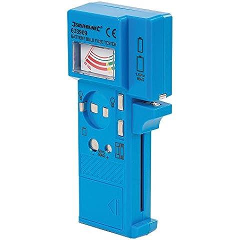 Silverline 633909 Multímetro para pilas, bombillas y fusibles 1,5 V - Multímetro, bombillas y fusibles 1,5 V - 9 V