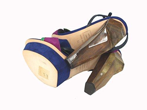 DSquared  v303, chaussures compensées femme Multicolore - Multicolore