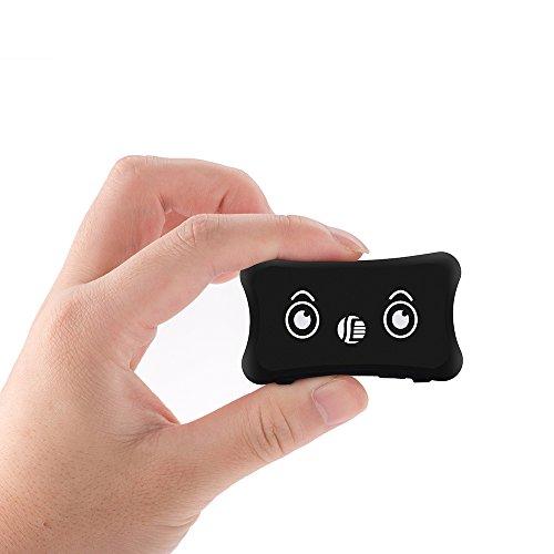 LKDKJ Pet GPS Tracker IP66 Impermeable Inteligente Posicionamiento Anti-Lost Seguimiento Equipo Perro Gato Collar Apoyo gsm/GPRS (Negro)