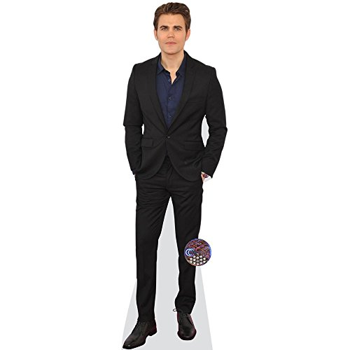 Celebrity Cutouts Paul Wesley (Suit) Pappaufsteller Mini