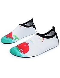 Beppi Escarpines Mujer Zapatos de Agua Hombre Surf Guantes, color Blanco, talla 36