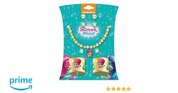 ClickDistribution UK CLSS011 Shimmer /& Shine Shimmer Deluxe Jewellery Set Multicoloured