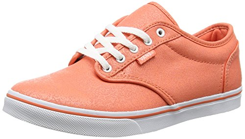Vans Atwood Low, Sneakers Basses femme Orange (Henna/Carmellia)