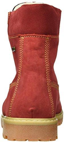 Däumling Andy, Bottes courtes avec doublure chaude mixte enfant Rouge - Rot (10Denver cardinale)